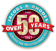 Jacobs & Rhodes 50 Year Seal